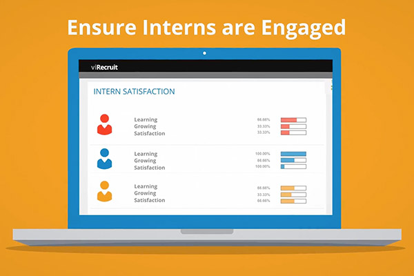 Increase engagement of your interns