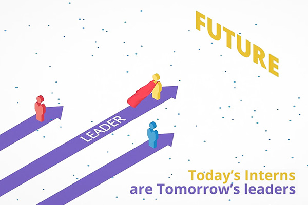 Today's interns are tomorrows leaders
