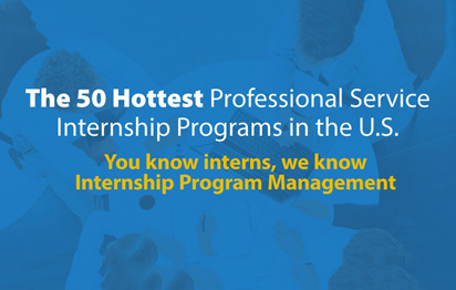 The 50 Hottest Professional Service Internship Programs in the U.S. (Infographic)