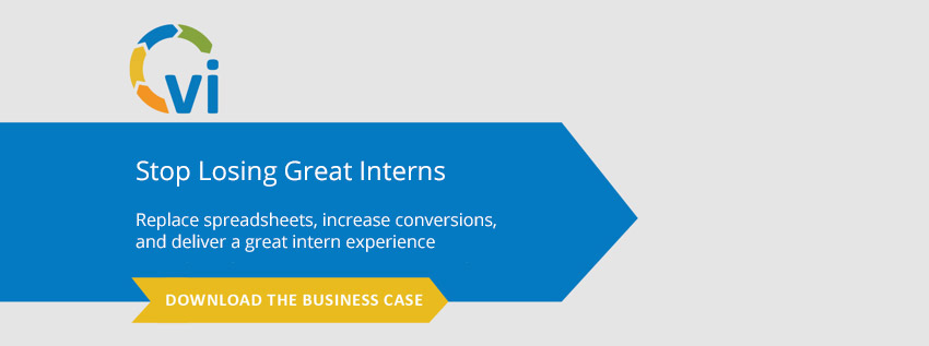 Stop losing great interns - download the business case